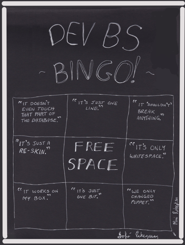Dev BS Bingo - Echegaray & Robertson
